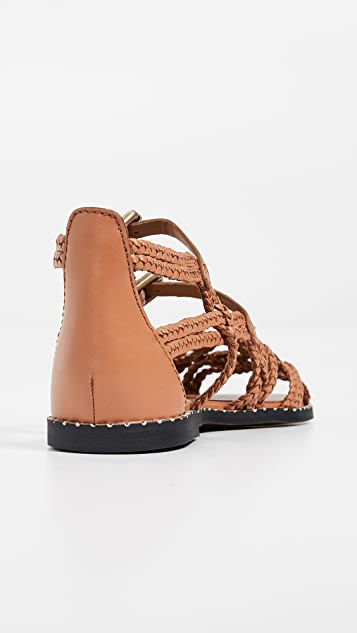See by Chloe Katie Braided Sandals