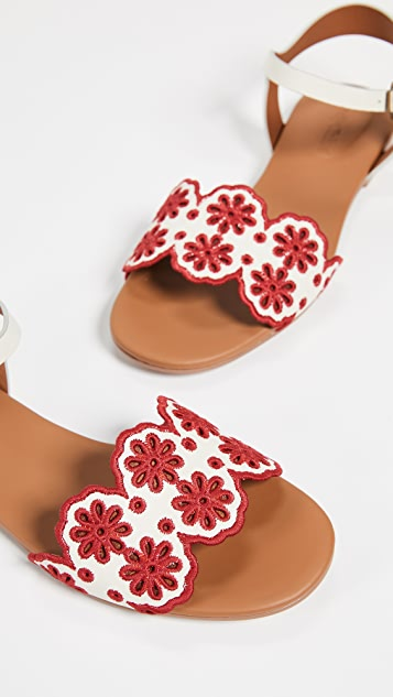 See by Chloe Krysty Floral Flats