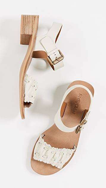 See by Chloe Jane Mid Heel Sandals