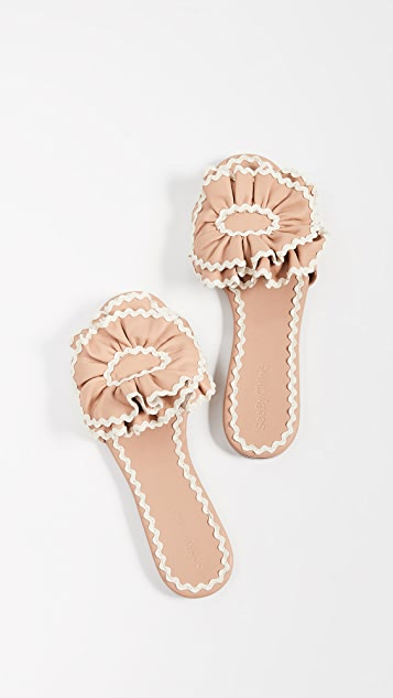 See by Chloe Molly RickRack Sandals