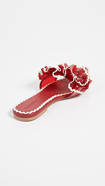 See by Chloe Molly RicRac PVC Sandals