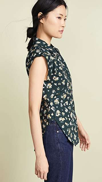 See by Chloe Floral Button Down
