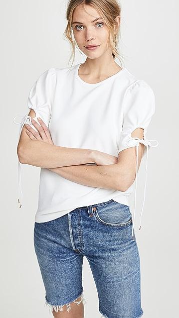 See by Chloe Tie Sleeve T-Shirt