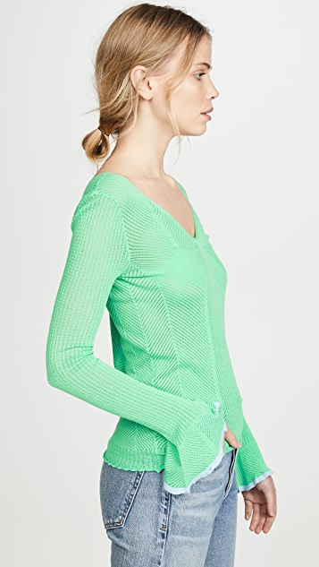 See by Chloe Double V Sweater