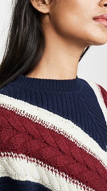 See by Chloe Collegiate Pullover