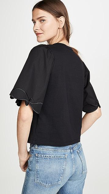 See by Chloé 泡泡袖 T 恤