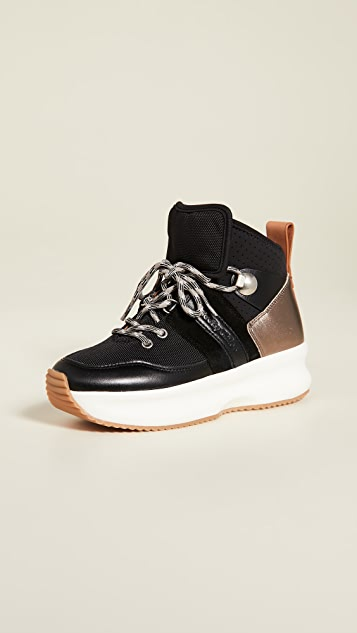 See by Chloe Case High Top Sneakers
