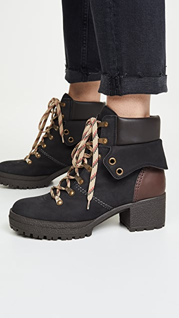 See by Chloe Eileen Mid Heel 40mm Boots