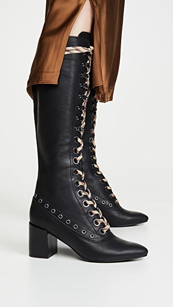 See by Chloe Victorian Tall Boots