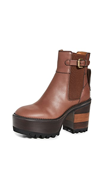 See by Chloe Platform Boots