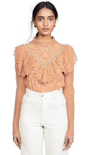 See by Chloé 荷叶领女式衬衫