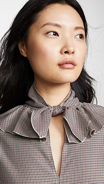 See by Chloe Ruffle Detail Blouse