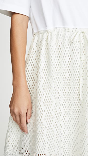 See by Chloe Drop Waist Dress