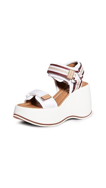 See by Chloé Yumi 厚底凉鞋