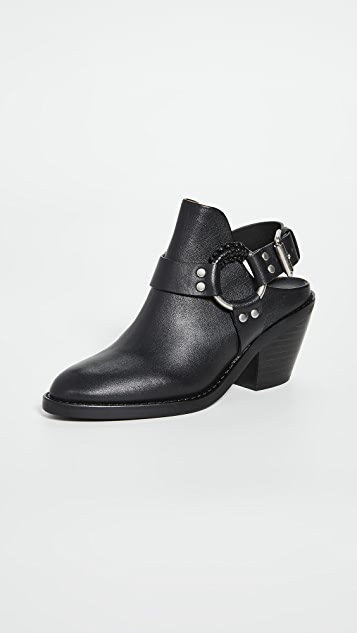 See by Chloe Eddie Backless Booties