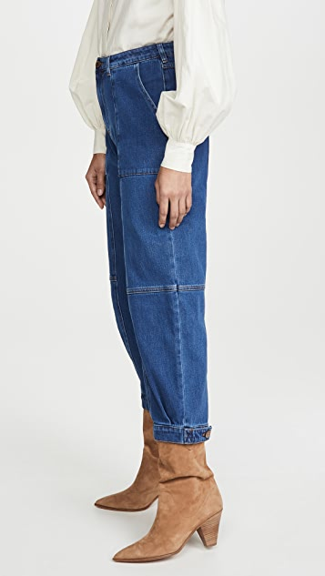 See by Chloe Denim Joggers