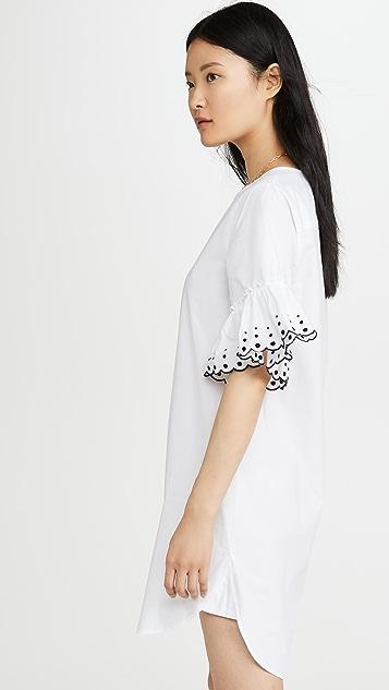 See by Chloe Ruffle Tee Dress
