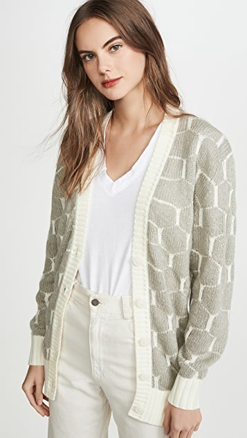 See by Chloe Honeycomb Cardigan