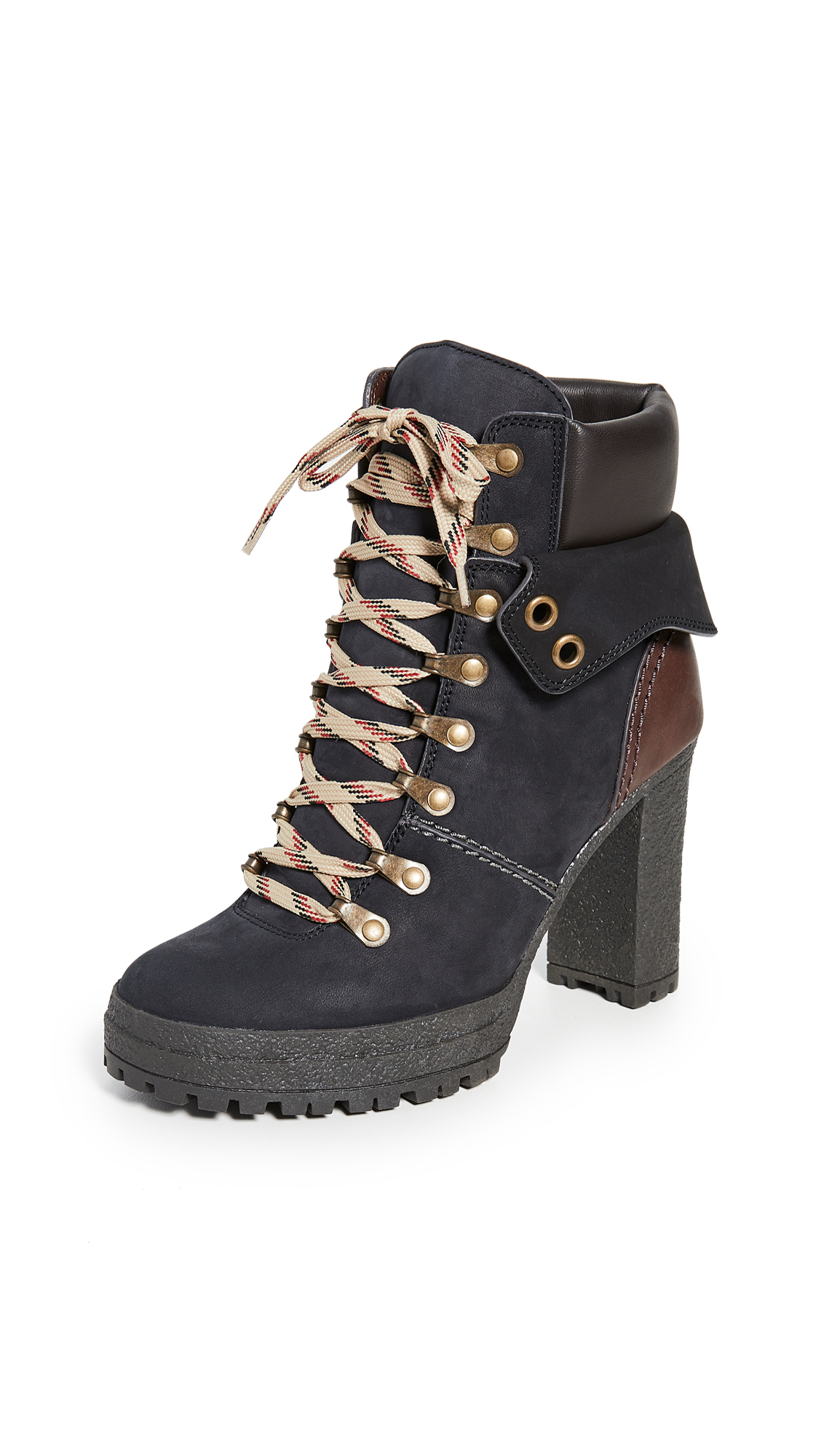 See by Chloe Lace Up Boots