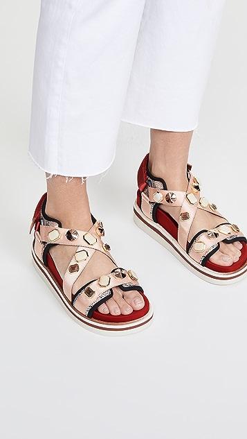 See by Chloe 精饰 Yumi 凉鞋