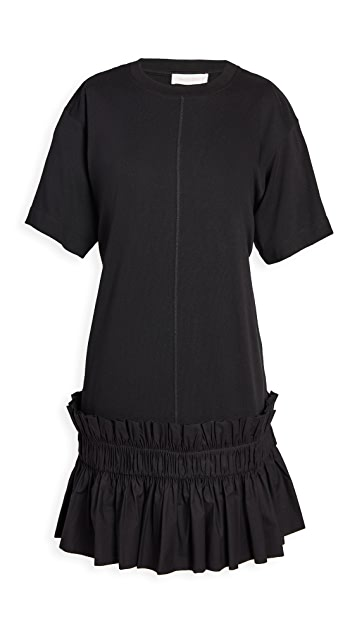 See by Chloe Drop Waist T-Shirt Dress
