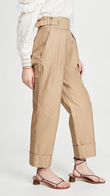 See by Chloe High Waist Tapered Trousers