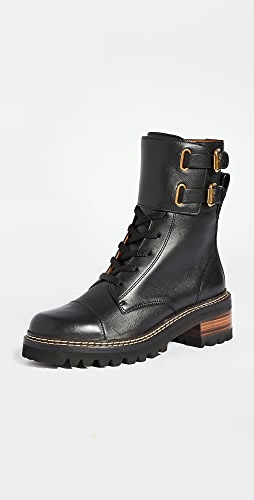 See by Chloe - Combat Mallory Boots