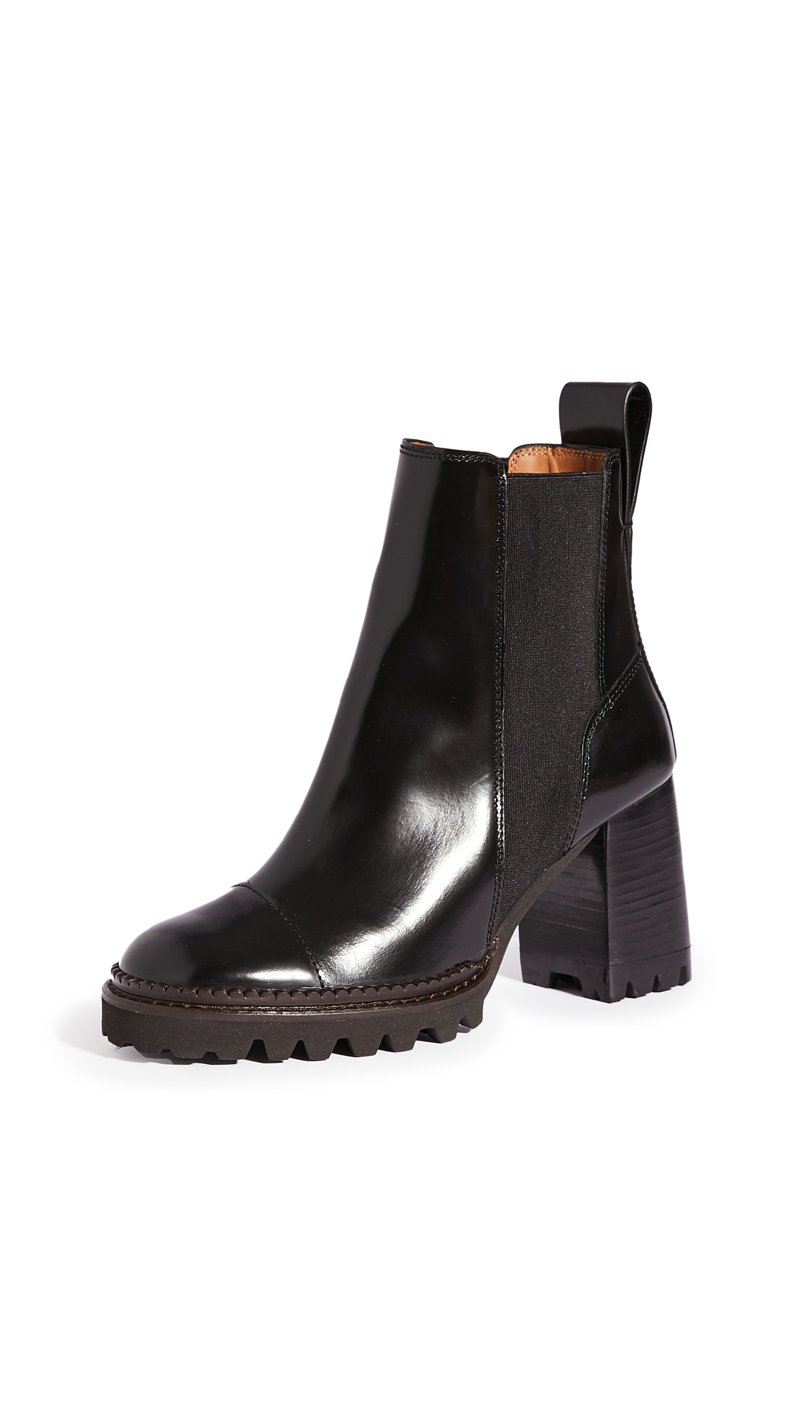 See by Chloe Chels Mall Lug Sole Boots