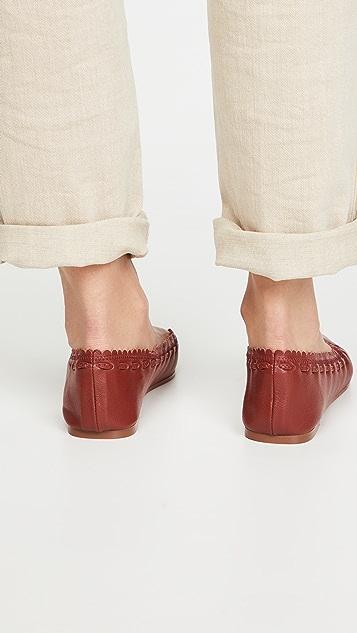 See by Chloe Jane 尖头芭蕾平底鞋