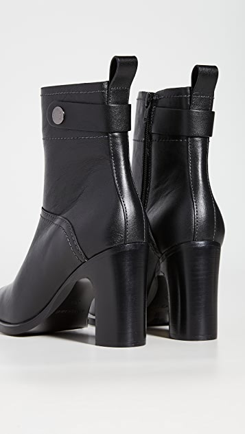 See by Chloe Annia Block Heel Ankle Boots