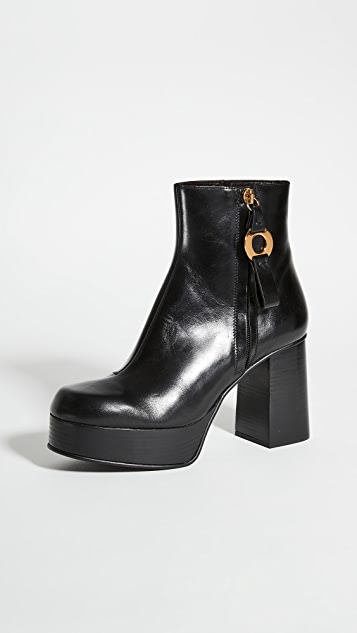 See by Chloe Jenny Platform Ankle Boots