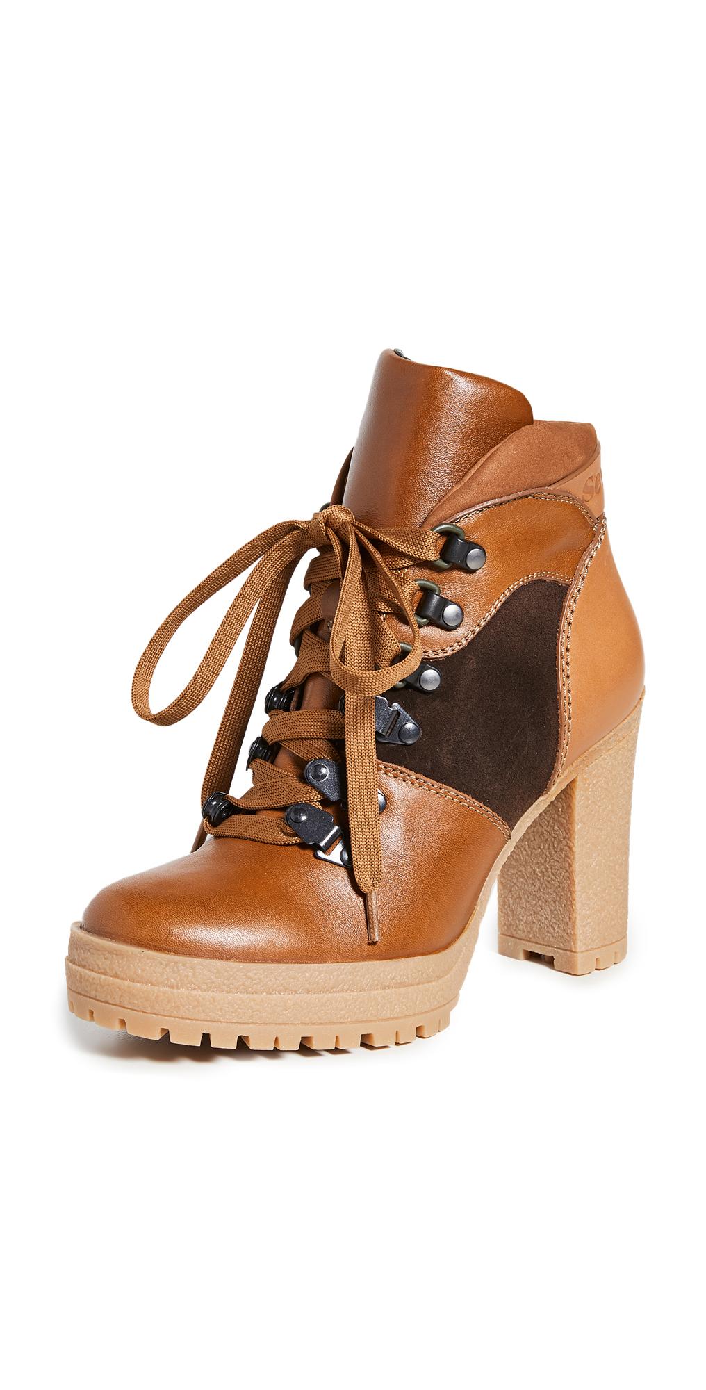 See by Chloe Aure Platform Hiker Boots