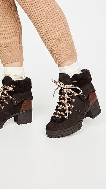See by Chloe Eileen 粗跟短靴