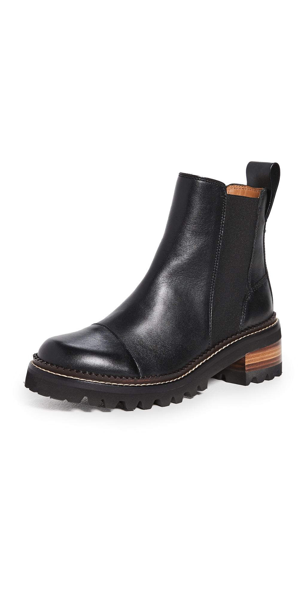 See by Chloe Mallory Chelsea Boots
