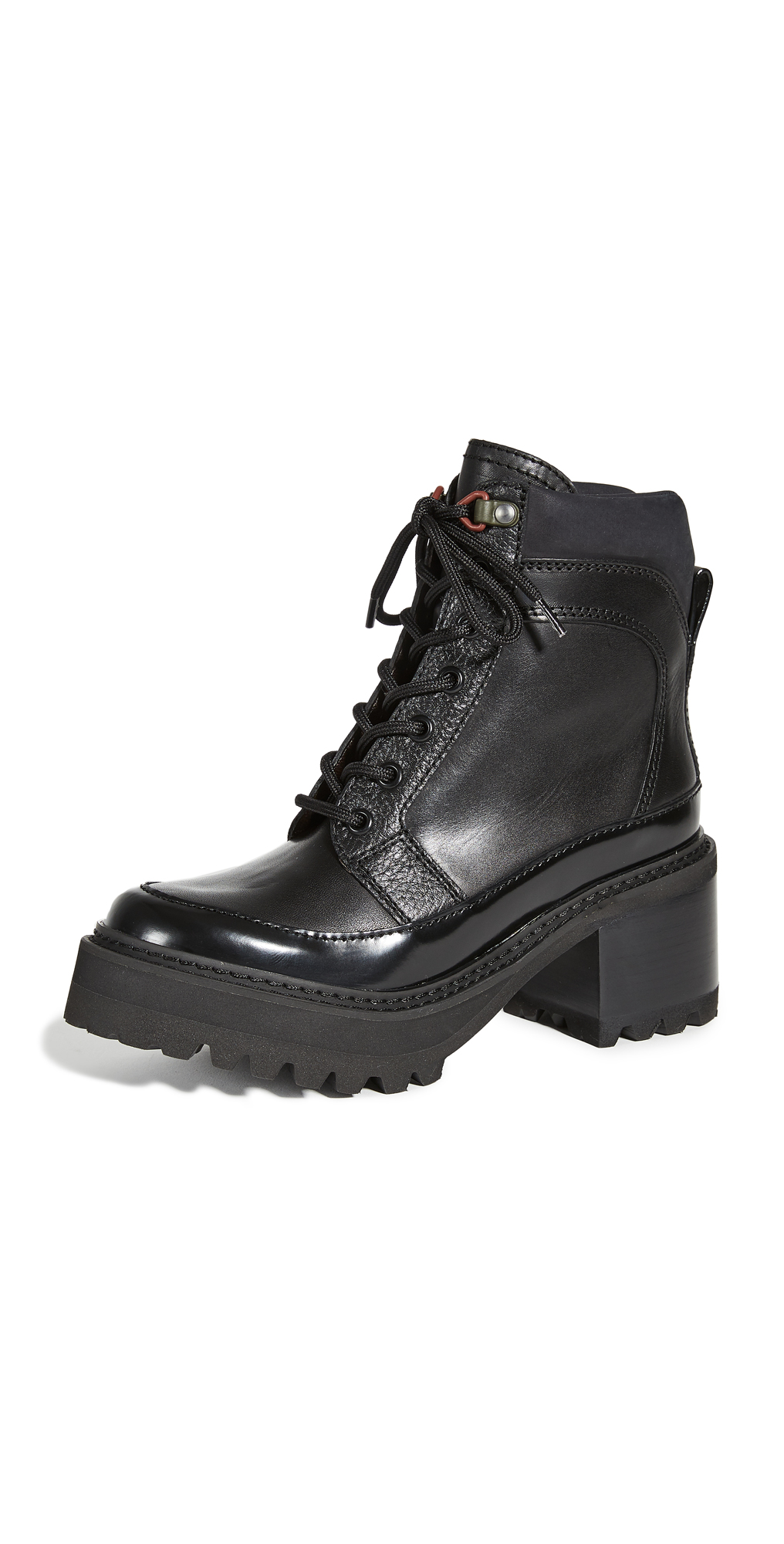 See by Chloe Hayden Combat Boots