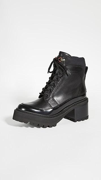 See by Chloe Hayden 军旅靴