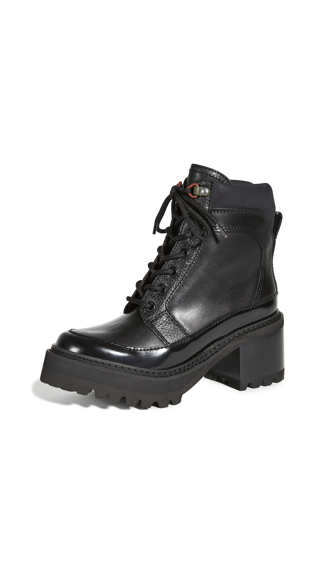 See by Chloe Hayden Combat Boots