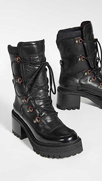See by Chloe Hayden Mid Shaft Boots