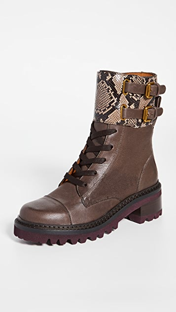See by Chloe Mallory Boots