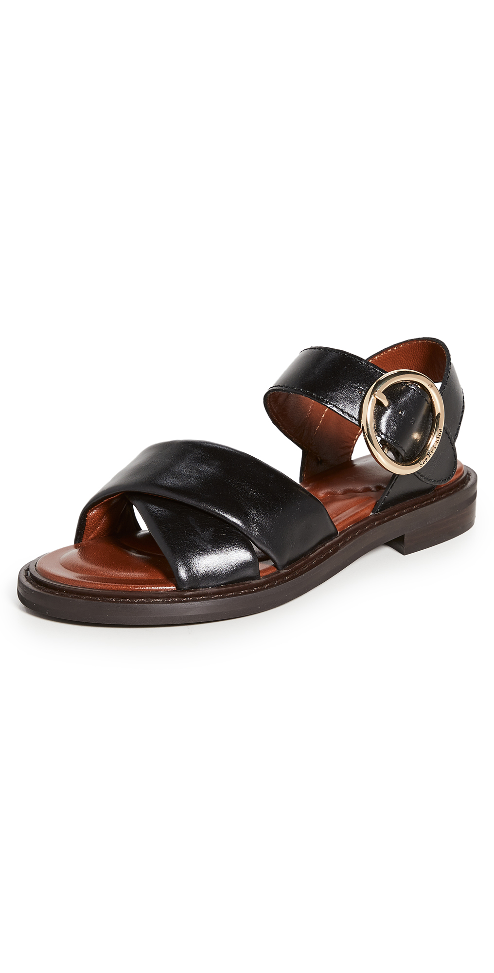 See By Chloé Leathers LYNA SANDALS