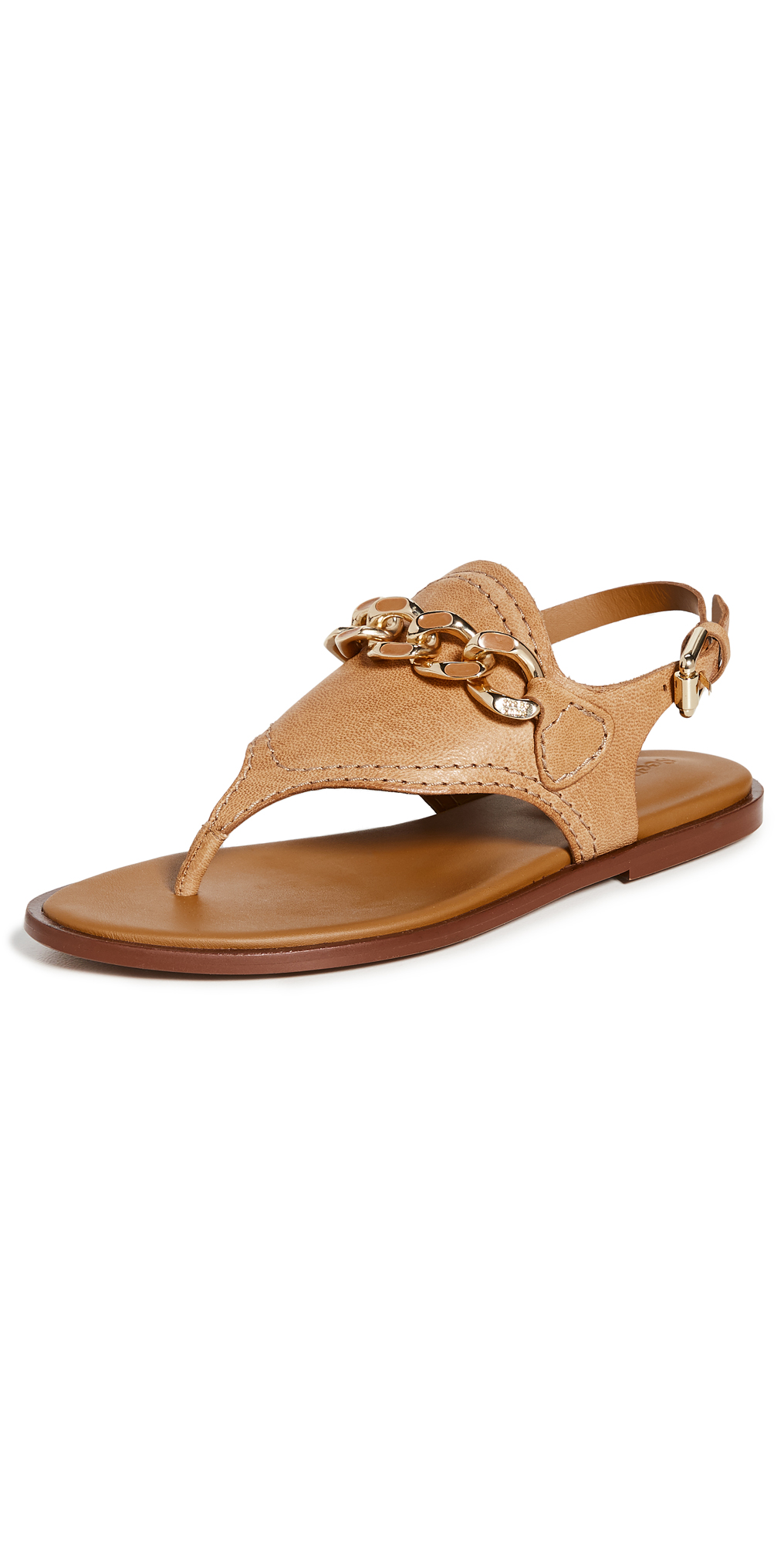 See By Chloé Leathers MAHE SANDALS