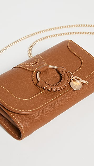 See by Chloe Hannah Wallet On A Chain
