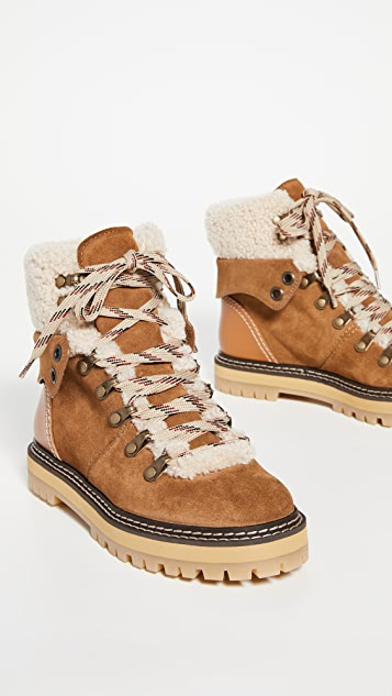 See by Chloe Eileen Low Boots