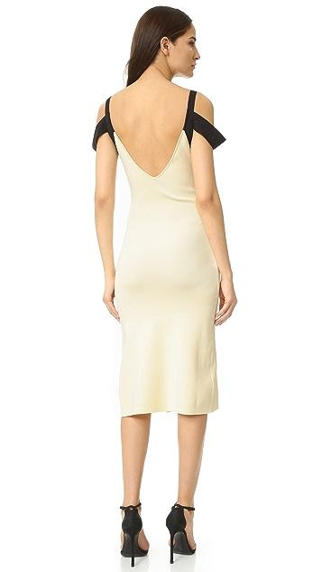 Self Portrait Double Strap Dress