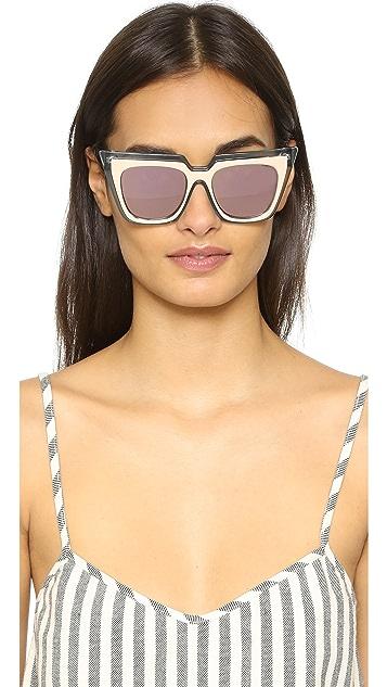 sunglasses summer self portrait 3rd grade - 357×633