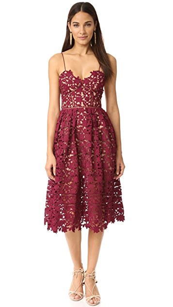 1b455f53dd Self Portrait Azalea Dress