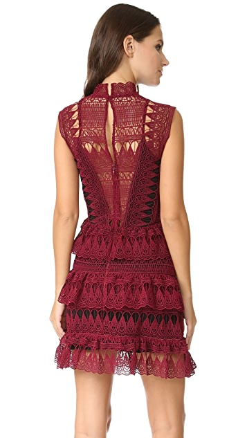 Self Portrait Structure Paneled Dress