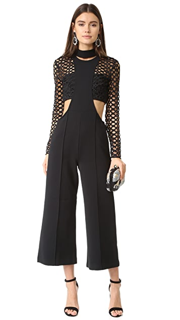 Self Portrait Mack Layered Jumpsuit