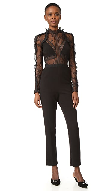 Self Portrait Hall Jumpsuit