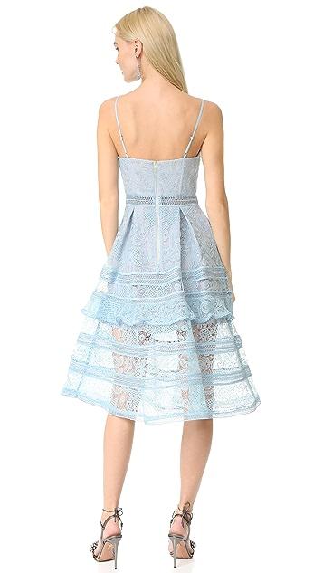 Self Portrait Paisley Midi Dress